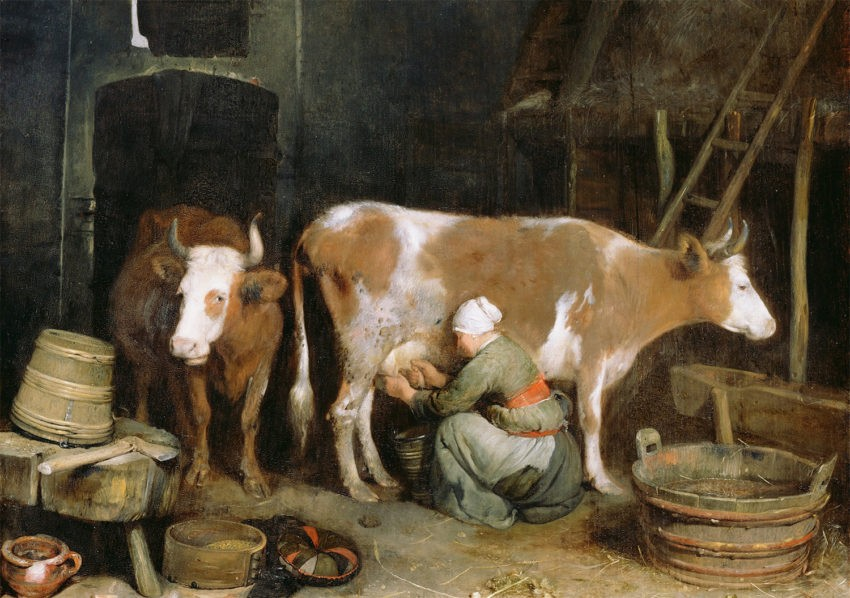 Глава VI. Питание. Убранство стола. Голландская кухня